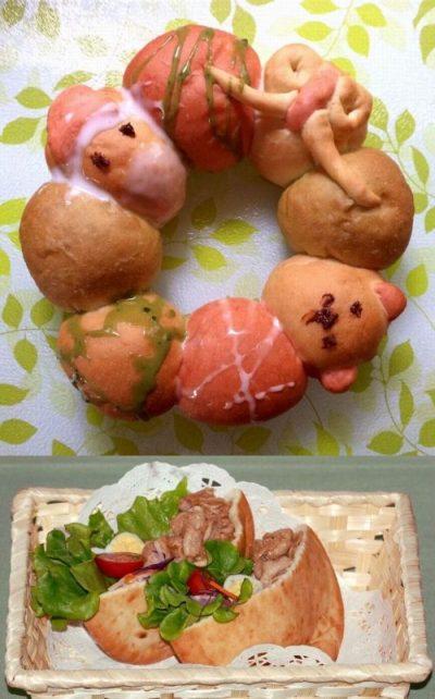 【レポート】リースの3色ちぎりパン&朝食ランチに☆ピタパン